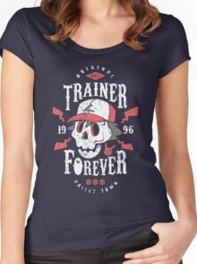 Trainer Forever Women's Fitted Scoop T-Shirt