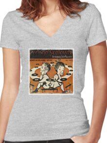 Vintage Children Women's Fitted V-Neck T-Shirt