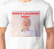 Jeremy Corbyn Laughing Unisex T-Shirt