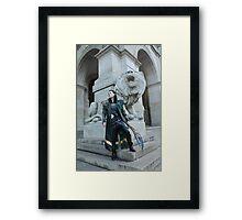 King Loki Framed Print