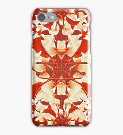 Digital Decorative Floral Pattern iPhone Case/Skin