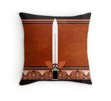 Master Sword Throw Pillow