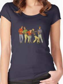 Dancers Record Women's Fitted Scoop T-Shirt