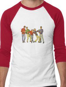 Dancers Record Men's Baseball ¾ T-Shirt