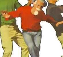 Dancers Record Sticker