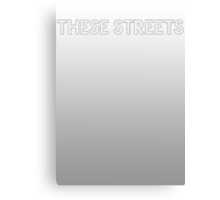 Bastille - These Streets #2 Canvas Print