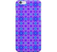 Berry kaleidoscope pattern iPhone Case/Skin