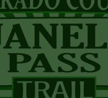 Guanella Pass Colorado offroad Jeep trail Sticker