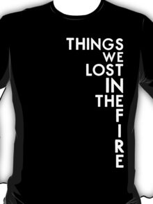 Bastille - Things We Lost In The Fire #2 T-Shirt