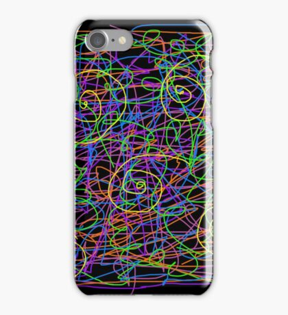 Neon Strings iPhone Case/Skin