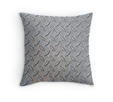 MAN CAVE THROW PILLOW SERIES - DIAMOND PLATE Throw Pillow