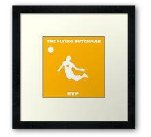 Robin Van Persie!! The Flying Dutchman! Framed Print
