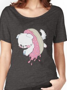 Donut Doggy Women's Relaxed Fit T-Shirt