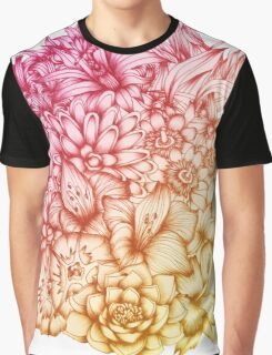 Tropical Flowers II Graphic T-Shirt