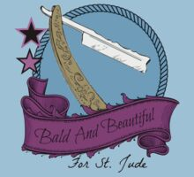 Bald and Beautiful For St. Jude! by Sarah Ball (TheMaggotPie)