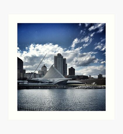 Art of Milwaukee Lakefront Art Print