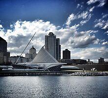 Art of Milwaukee Lakefront by katherinepaulin