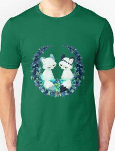Floral Foxes Unisex T-Shirt