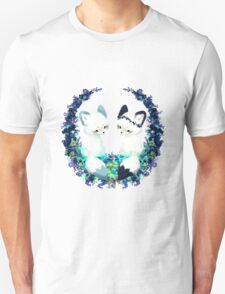 Floral Foxes Unisex T-Shirt