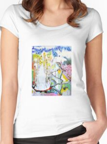 Veil 536 Women's Fitted Scoop T-Shirt