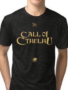 CALL OF CTHULHU - Chaosium T-Shirt Tri-blend T-Shirt