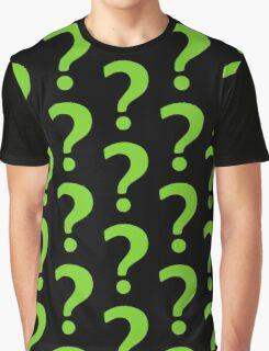 Enigma - green question mark Graphic T-Shirt