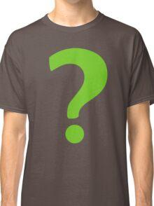 Enigma - green question mark Classic T-Shirt