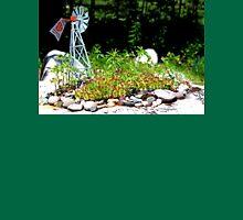 Hart Well Drilling Anniversary Windmill in Rock Garden Unisex T-Shirt