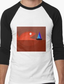 Monster fish Men's Baseball ¾ T-Shirt