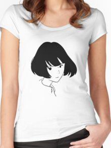 The Tatami Galaxy Akashi <3 Women's Fitted Scoop T-Shirt