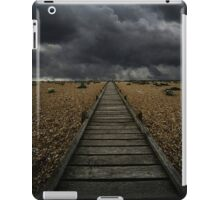 Wooden path in the wilderness iPad Case/Skin