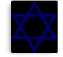 Jewish Star of David Canvas Print
