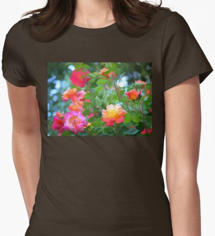 Rose 294 Womens Fitted T-Shirt