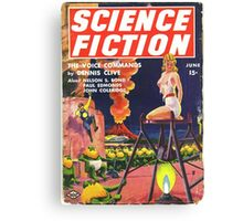 science fiction quarterly magazine Canvas Print
