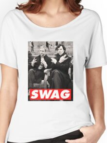 SWAGLOCK Women's Relaxed Fit T-Shirt