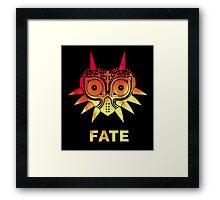 A Fiery Fate - Zelda Majora's Mask Framed Print