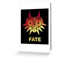 A Fiery Fate - Zelda Majora's Mask Greeting Card
