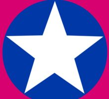captain bisexual Sticker