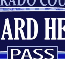 Lizard Head Pass Colorado offroad Jeep trail Sticker