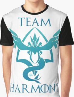 Team Harmony - White  Graphic T-Shirt