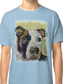 Pit Bull Portrait Classic T-Shirt