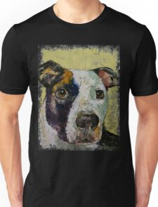 Pit Bull Portrait Unisex T-Shirt