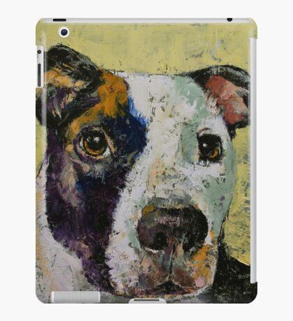 Pit Bull Portrait iPad Case/Skin