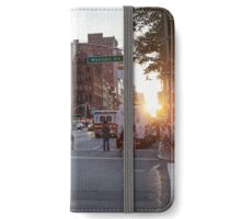 Manhattanhenge is Coming iPhone Wallet/Case/Skin