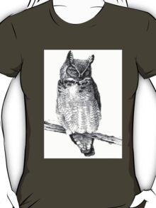 Sketch of Barn Owl T-Shirt