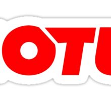 the red logo motul motogp and formula one Sticker