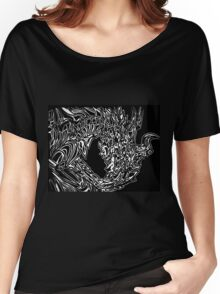 Alduin Dragon - The Elder Scrolls Skyrim Women's Relaxed Fit T-Shirt