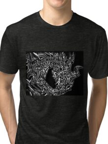 Alduin Dragon - The Elder Scrolls Skyrim Tri-blend T-Shirt