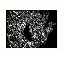 Alduin Dragon - The Elder Scrolls Skyrim Art Print