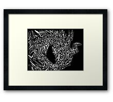 Alduin Dragon - The Elder Scrolls Skyrim Framed Print
